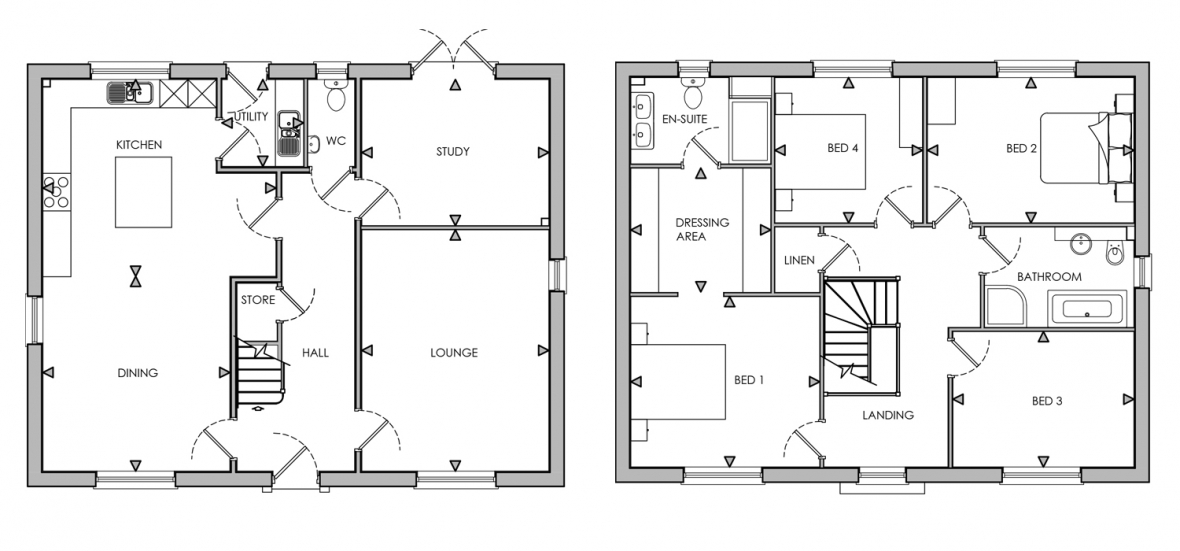 picture_of_plot_1_great_broughton_floorplan